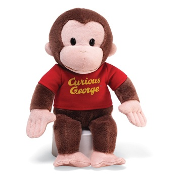 Houston flowers  -  Curious George Baskets Delivery