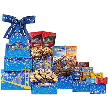 USA, United States online Florist - Deluxe Ghirardelli Tower Bouquet