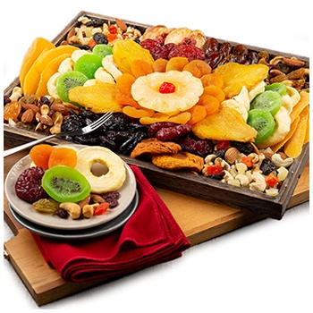 Wichita flowers  -  Dried Fruit And Nuts Baskets Delivery