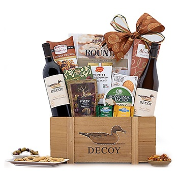 Tulsa flowers  -  Duckhorn Wine Baskets Delivery