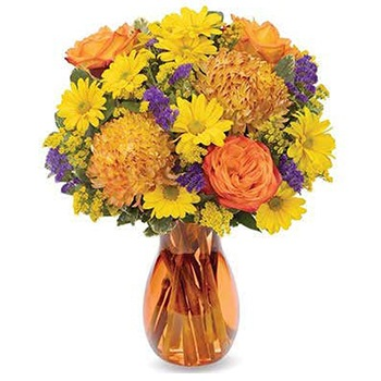 Long Beach flowers  -  Energizing Bouquet Baskets Delivery