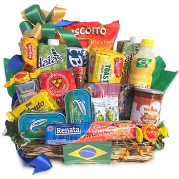 Long Beach flowers  -  Extreme Brazil Basket Baskets Delivery