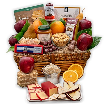 Milwaukee flowers  -  Fruit Profusion Gift Basket Baskets Delivery
