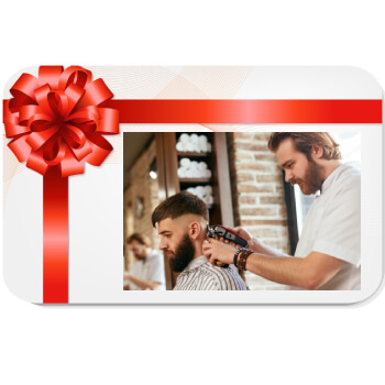 Wichita flowers  -  Gift Certificate for Barbershop Service Baskets Delivery
