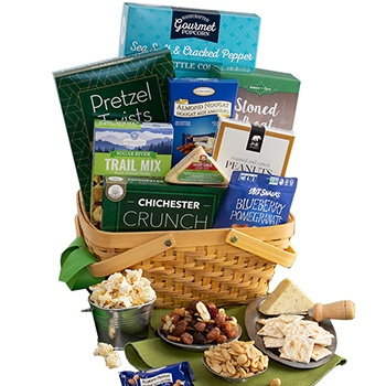 Boston bunga- Gift Without Guilt Basket Bunga Penghantaran