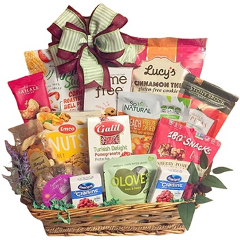 Long Beach flowers  -  Gluten Free Assortment Baskets Delivery