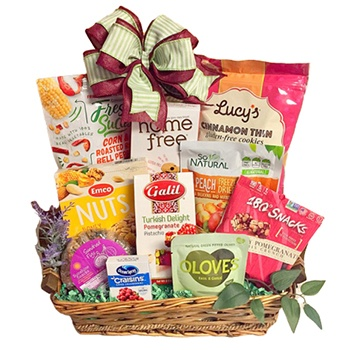 Virginia Beach flowers  -  Gluten Free Snacks Baskets Delivery