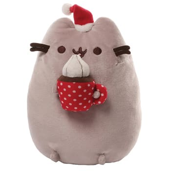 USA, United States online Florist - GUND Christmas Cocoa Pusheen Plush Bouquet