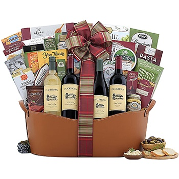 Long Beach flowers  -  Happy Holidays with Duckthorn Vineyards Baskets Delivery