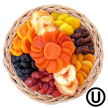 USA flowers  -  Wholesome Choice Gift Tray Flower Delivery