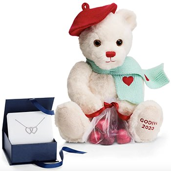 Los Angeles flowers  -  Hearts, Bears, and Decadence Delivery