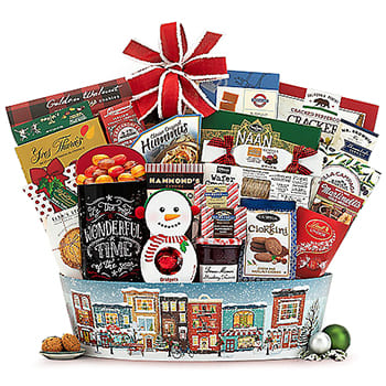 Indianapolis, United States flowers  -  Instant Celebration Gift Basket Baskets Delivery