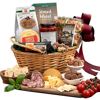 Virginia Beach flowers  -  Italian Valley Gift Basket Baskets Delivery