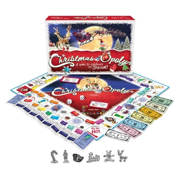 Las Vegas flowers  -  Its Christmas-opoly Time Baskets Delivery