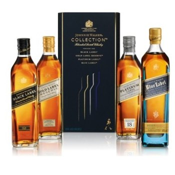 Boston bunga- Set Hadiah Johnnie Walker Bunga Penghantaran