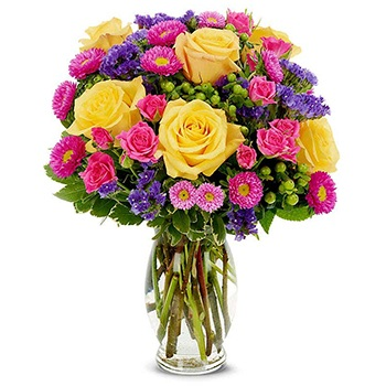 USA, United States online Florist - Lazy Sunday Bouquet