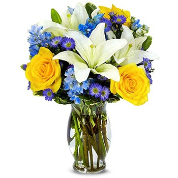 Long Beach flowers  -  Lovely Lily Baskets Delivery