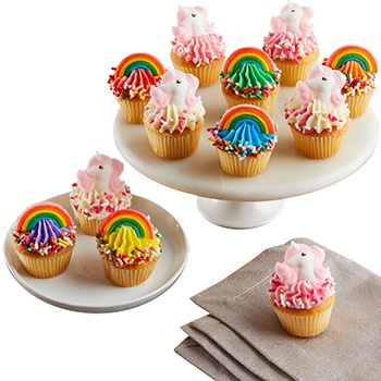 Columbus blomster- Magical Cupcakes Collection kurver Levering