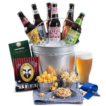 Boston, United States flowers  -  Man Cave Classic Baskets Delivery
