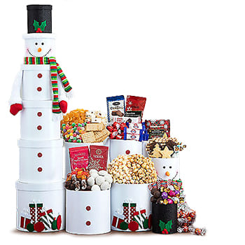 Boston, United States online Florist - Snowman Sweets Bouquet