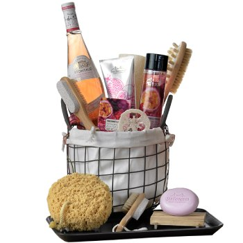 Dallas bunga- Hamper Mom Pamper Baskets Penghantaran