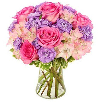 Long Beach flowers  -  Perfect Pastels Baskets Delivery