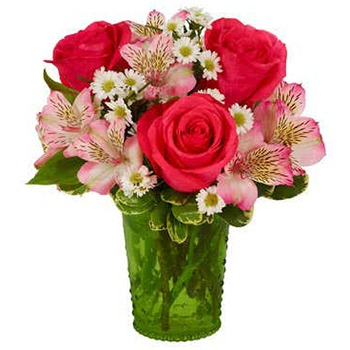 Tulsa flowers  -  Pink Passions Baskets Delivery