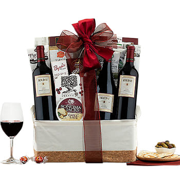 Boston, United States online Florist - Red Carpet Wines Bouquet