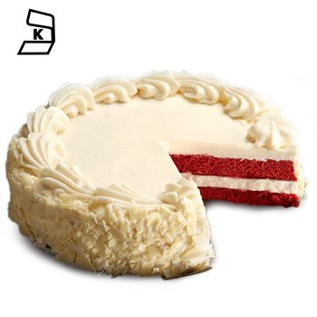 Los Angeles blomster- Red Velvet Love Cake Blomst Levering