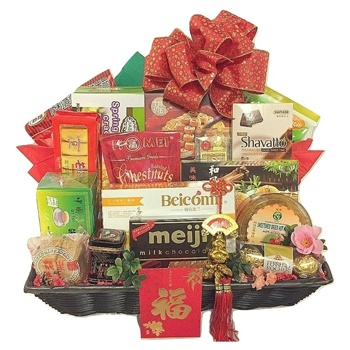 Virginia Beach flowers  -  Revel in Mooncake Festival Baskets Delivery