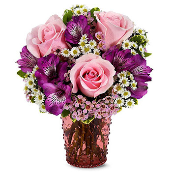 Long Beach flowers  -  Romantic Blooms Baskets Delivery