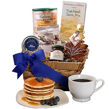 USA, United States online Florist - Rustic Bed and Breakfast Gift Basket Bouquet