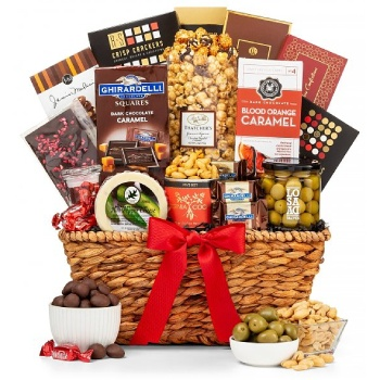 Austin flowers  -  Sensational Savors Gift Basket Baskets Delivery