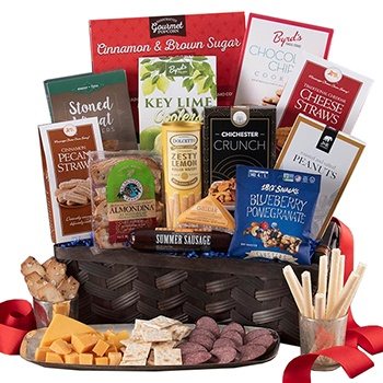Milwaukee flowers  -  Snack Attack Gift Basket Baskets Delivery