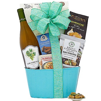 USA, United States online Florist - Spring Celebrations Gift Basket Bouquet