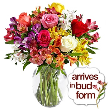 Long Beach flowers  -  Sunshines Sweet Kisses Baskets Delivery