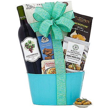 Tulsa flowers  -  Sweet Cabernet Baskets Delivery