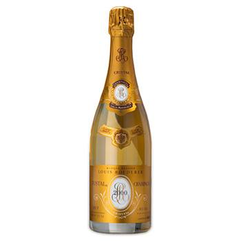 Kansas City blomster- The Gold Standard Champagne Gift Blomst Levering