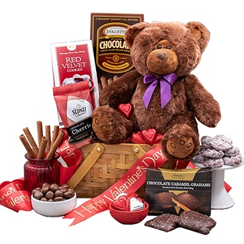 Washington flowers  -  Valentine is for Everyone Baskets Delivery