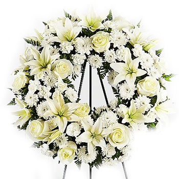 Boston, United States online Florist - Wreath Of Hope Bouquet