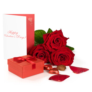 Shetpe flowers  -  Valentines Blessing Flower Delivery