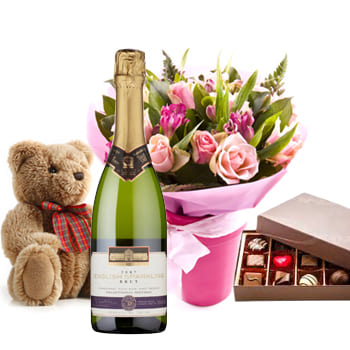 Bordeaux flowers  -  Completely Romantic Collection Flower Delivery