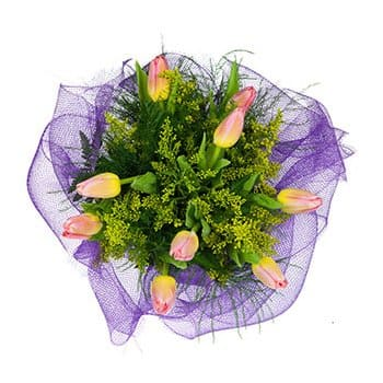 Wellington online Florist - Warm Wishes Bouquet