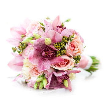 Moscow flowers  -  Wedding Bells Baskets Delivery