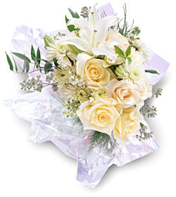 Norway flowers  -  White Fantasy Baskets Delivery