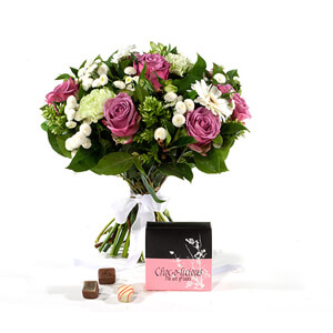 Norway flowers  -  Will you be Mine Baskets Delivery