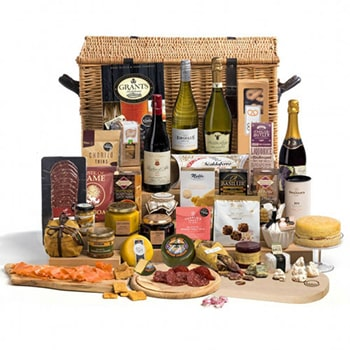 Leeds, United Kingdom flowers  -  Wine Satisfaction Baskets Delivery