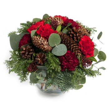 Norway flowers  -  Winter And Summer Bouquet Baskets Delivery