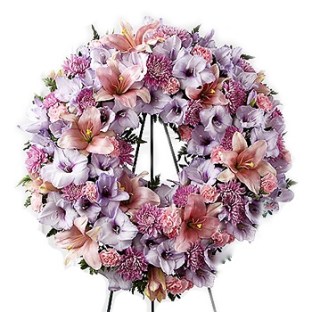 Houston flowers  -  Wreath Of Colors Baskets Delivery