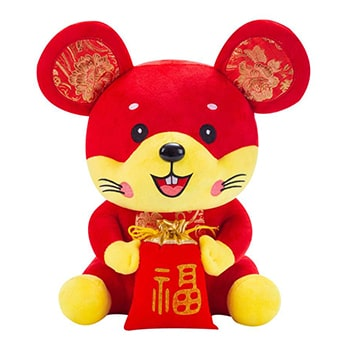 Bradford flowers  -  Year of the Rat New Year Plush Flower Delivery